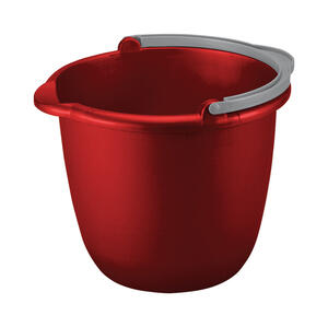Sterilite  10 qt. Bucket  Red