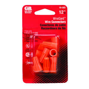 Gardner Bender  WingGard  Wire Connector  22-14 AWG Copper Wire  12 pk 22-14 Ga.