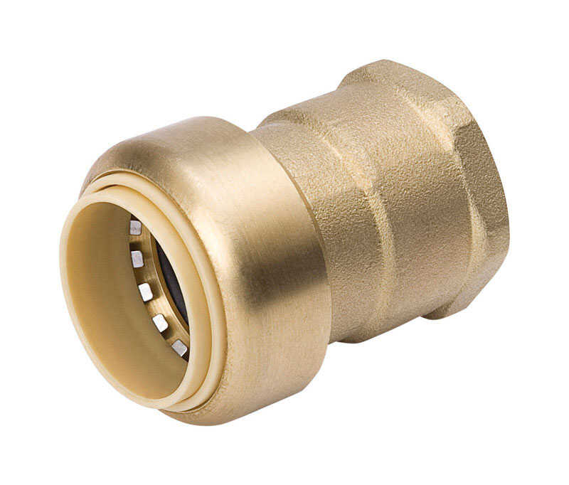 ProLine  Push-Fit  3/4 in. FPT  Dia. x 3/4 in. PF  Dia. Push Fit Adapter