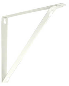 Knape & Vogt  Closet Pro  White  Steel  Bracket  9 in. H x 10.25 in. L 250 lb.