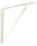 Knape & Vogt  Closet Pro  White  Steel  Bracket  N/A Ga. 10.25 in. L 250 lb.