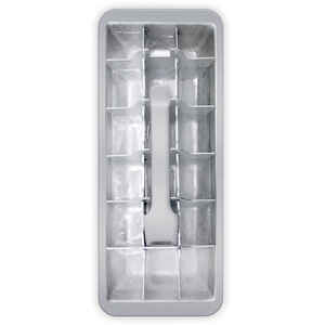 HIC  4 in. W x 11 in. L Silver  Ice Cube Tray