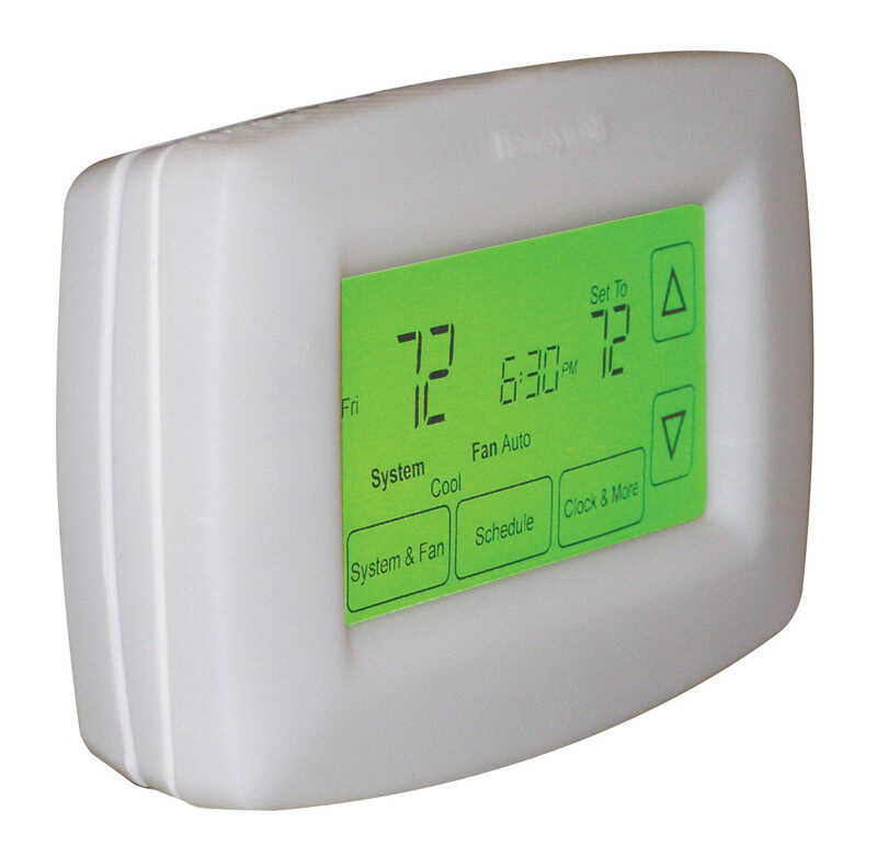 Honeywell  Heating and Cooling  Touch Screen  Programmable Thermostat