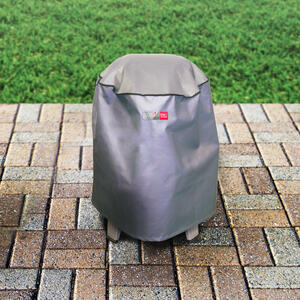 Char Broil The Big Easy Gray Grill Cover 23 5 In W X 23 5 In D X