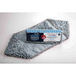 Soggy Doggy  Gray  Dog  Absorbent Towel  1 pk