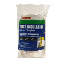 Frost King  12 in.  x 15  L Fiberglass/Vinyl  Duct Insulation