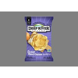 Deep River Snacks  Sweet Maui Onion  Kettle Cooked Potato Chips  2  Bagged