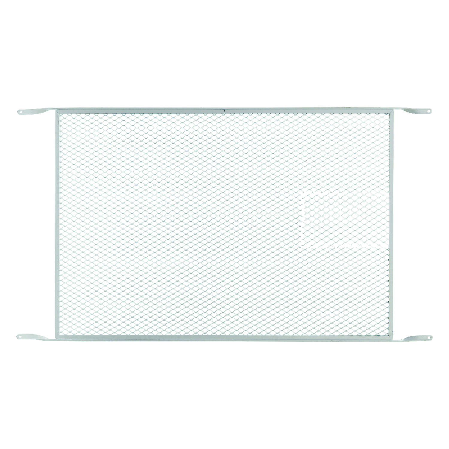 M-D Building Products White Aluminum 1 pc. Door Grille