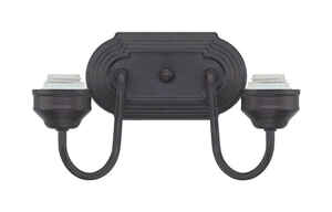Westinghouse  Oil Rubbed Bronze  2  Wall Sconce