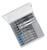 Bosch  High Carbon Steel  T-Shank  Jig Saw Blade Set  Assorted TPI 10 pk