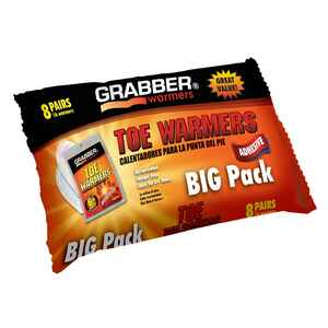 Grabber  Heat Treat  Toe Warmer  8  16 pk