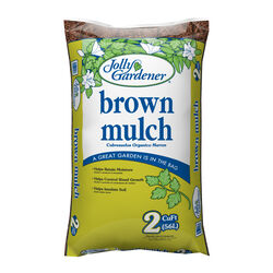 Jolly Gardener Brown Wood Mulch 2 cu. ft.
