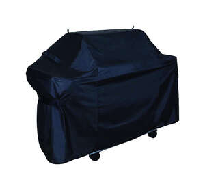 Grill Care  Black  Grill Cover  23 in. D x 41 in. H x 54 in. W For Fits Most Gas Barbecue Grills