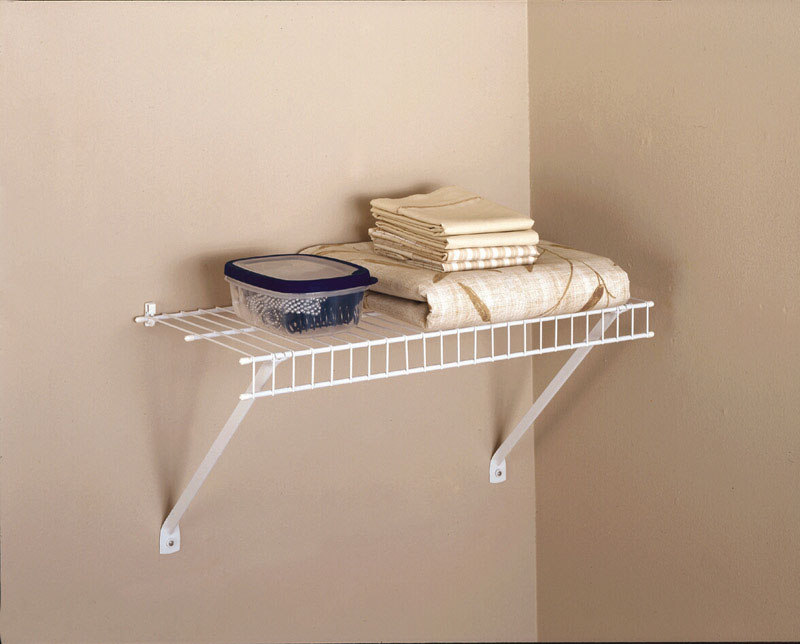 Rubbermaid  24 in. H x 12 in. W x 24 in. L Linen Shelf Kit  1 pk Steel