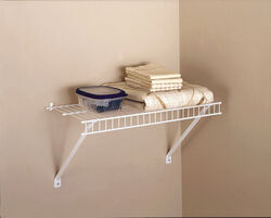 Rubbermaid  24 in. H x 12 in. W x 24 in. L Steel  Linen Shelf Kit  1 pk