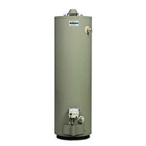Reliance  Water Heater  Natural Gas  50 gal. 60-3/4 in. H x 21 in. L x 21 in. W