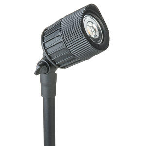 Paradise  Black  Low Voltage  7 watts LED  Spot Light  1 pk