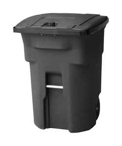 Toter  Bear Tough  96 gal. Polyethylene  Wheeled Garbage Can  Lid Included