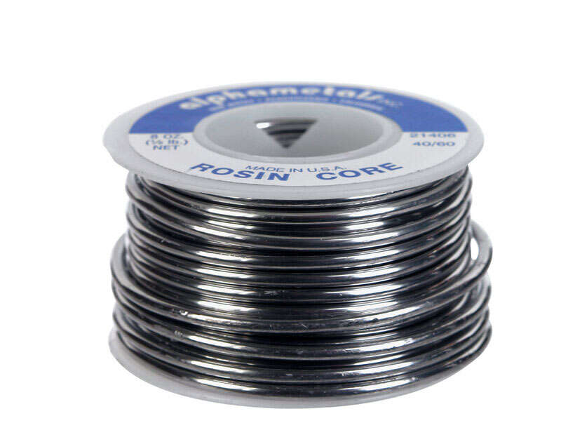 Alpha Fry  8 oz. 0.09 in. Dia. Rosin Core Solder  Tin/Lead  40/60