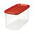 Rubbermaid  10 cups Food Storage Container  1 pk Clear