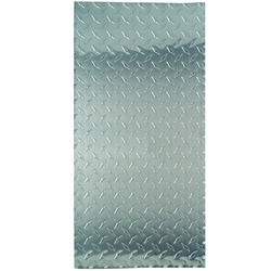 M-D 0.02 in. x 1 ft. W x 2 ft. L Aluminum Diamond Sheet Metal