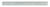 General Tools  6 in. L x 1/2 in. W Stainless Steel  Precision Rule  Metric