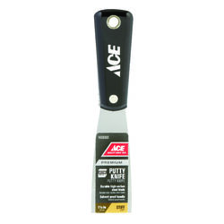 Ace  1-1/2 in. W High-Carbon Steel  Stiff  Putty Knife