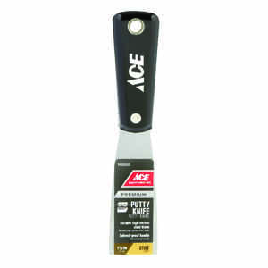 Ace  1-1/2 in. W High Carbon Steel  Stiff  Putty Knife