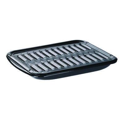 Range Kleen  Porcelain  Broiler Pan and Grill  13 in. W x 16.875 in. L