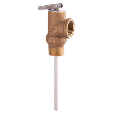 Watts  3/4 in. MNPT  Brass  Temperature and Pressure Relief Valve  3/4 in. FNPT  1 pk