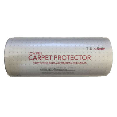 Tenex  Nonslip 27 in. W x 100 ft. L Clear  Carpet Protector