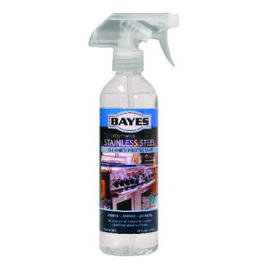 Bayes  No Scent Stainless Steel Cleaner  16 oz. Liquid