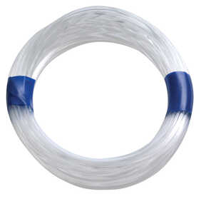 HILLMAN  OOK  Plastic Coated  Plastic  Invisible Wire  1 pk 50 lb.