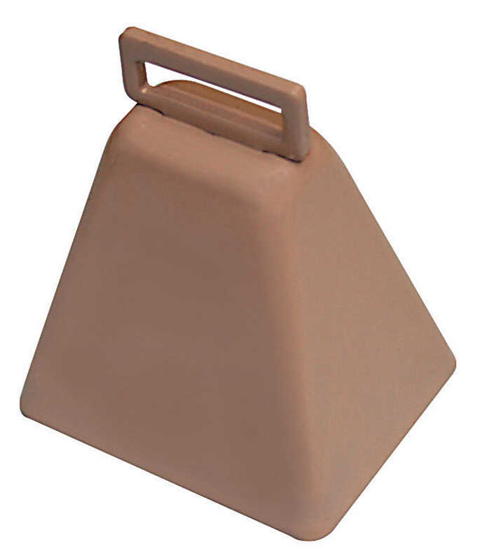 SpeeCo  Steel  2-13/16 in. H Cowbell