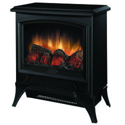 Dimplex Tristan 17-13/16 in. W 300 sq. ft. Black Casual Electric Stove