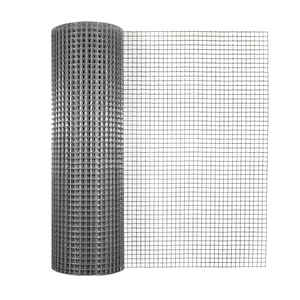 Garden Zone  24 in. W x 25 ft. L Silver Gray  Steel  Hardware Cloth  1/2 in.