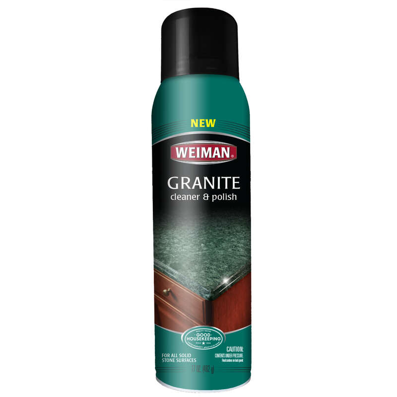 Weiman  Vanilla Scent Granite Cleaner and Polish  17  Spray