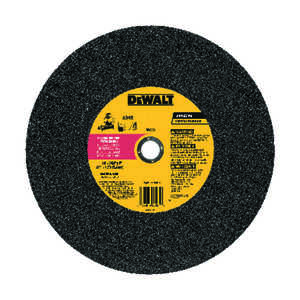 DeWalt  High Performance  7/64 in. thick  x 1 in.   x 14 in. Dia. Aluminum Oxide  Metal Grinding Whe