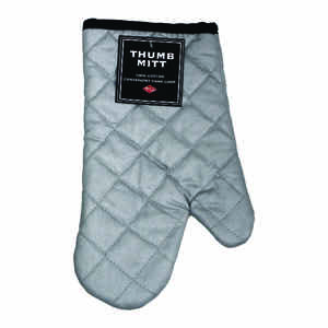 Ritz  Silver  Cotton  Oven Mitt  1 pk