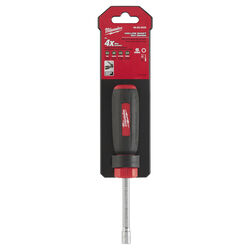 Milwaukee  6 mm Metric  Hollow Shaft Nut Driver  7 in. L 1 pc.