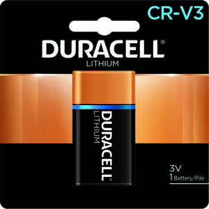 Duracell  Lithium  CRV3  3 volt Camera Battery  DLCRV3BPK  1 pk