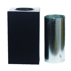 Galvanized Steel Stove Pipe Support