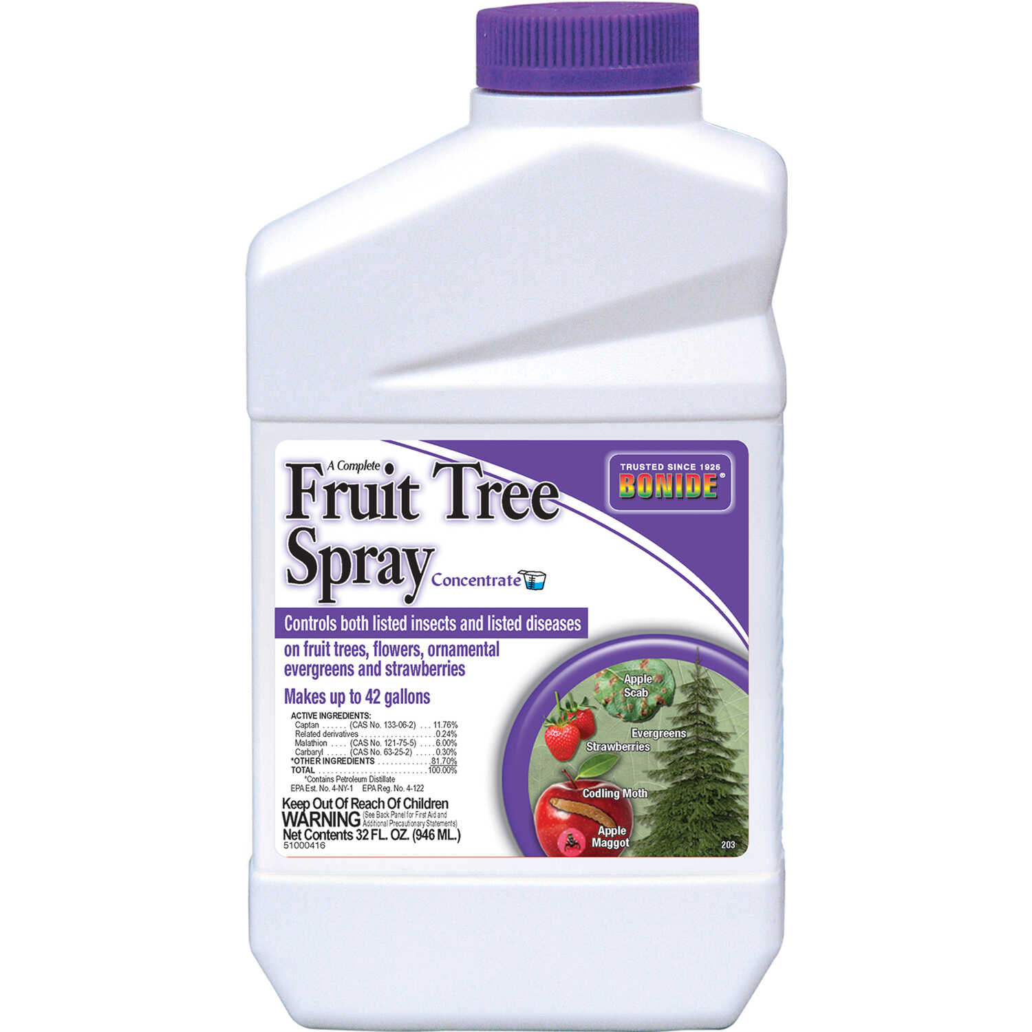 Bonide  Fruit Tree Spray  Insect Killer  32 oz.