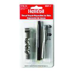 Heli-Coil  7/16 in. Stainless Steel  Thread Repair Kit  14