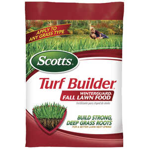 Scotts  Turf Builder Winterguard  32-0-10  Lawn Food  For All Grass Types 12.5 lb.