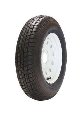 Marastar  13 in. Dia. x 23.8 in. Dia. 1360 lb. capacity 5-Bolt  Tire  Rubber  1 pk