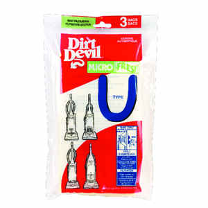 Dirt Devil  Vacuum Bag  For Dirt Devil Featherlite. Platinum Force. Breeze Lightweight. Swivel Glide