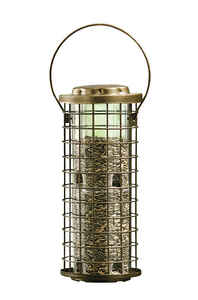 Perky-Pet  Wild Bird  3 lb. Metal/Plastic  Bird Feeder  8 ports