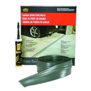 M-D Building Products  Gray  Vinyl  Threshold Insert  For Garage Door 20 ft. L x 1/2 in.