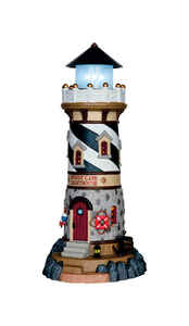 Lemax  Windy Cape Lighthouse  Village Building  Multicolored  1 each Resin